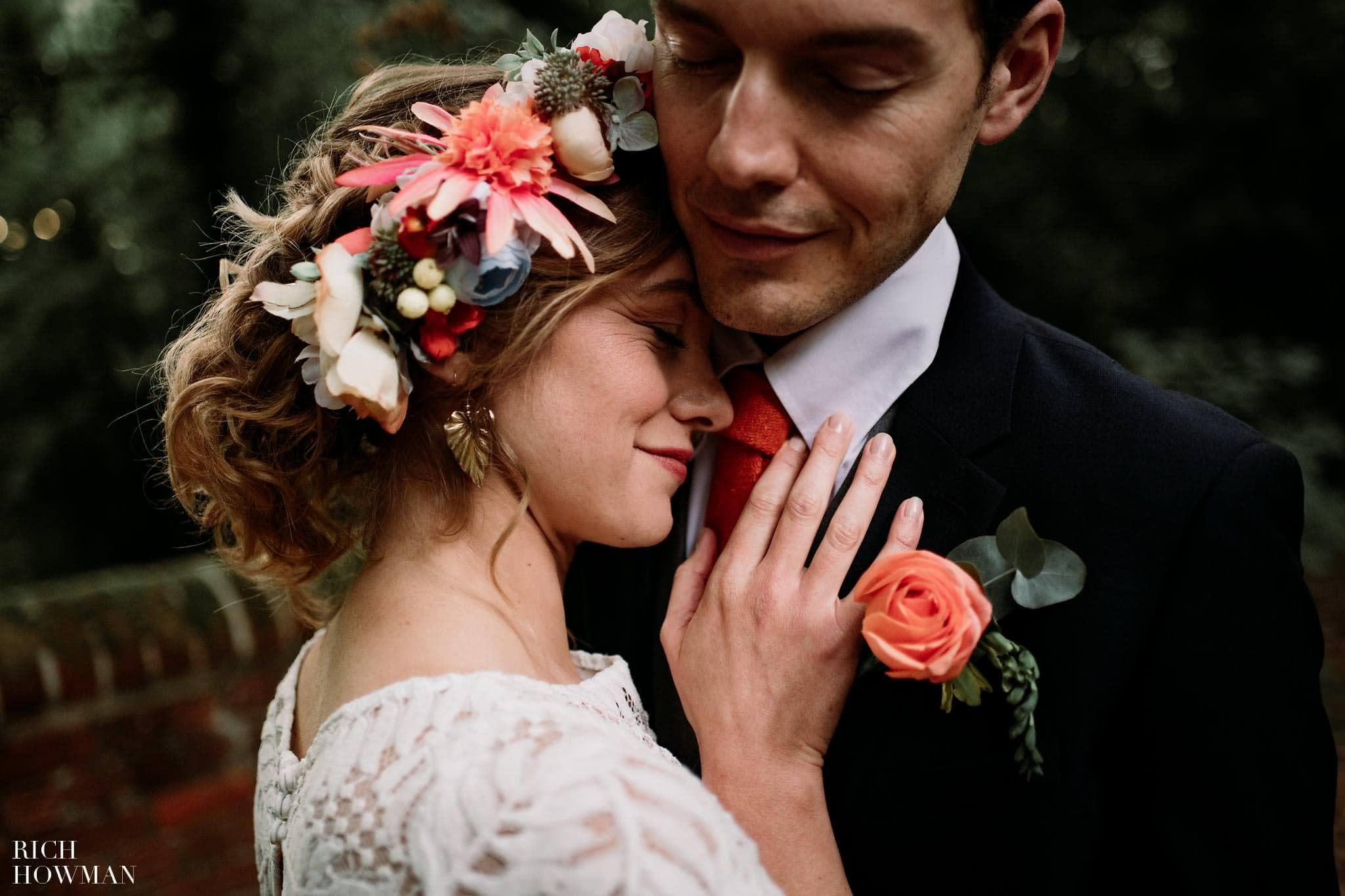 BOHO Wedding Photos by Wedding Photographer in Hampshire