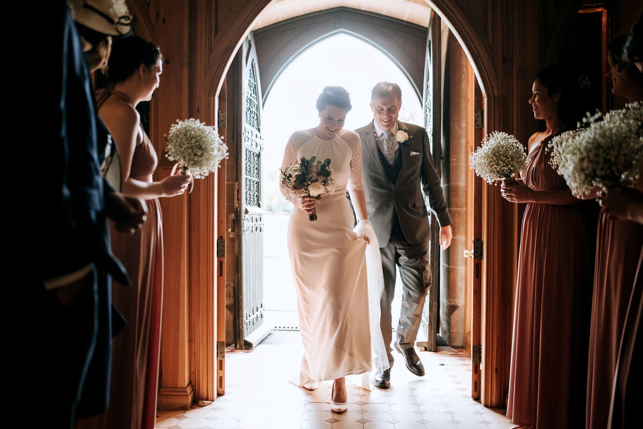 Great Tythe Barn in Tetbury - Wedding Photography