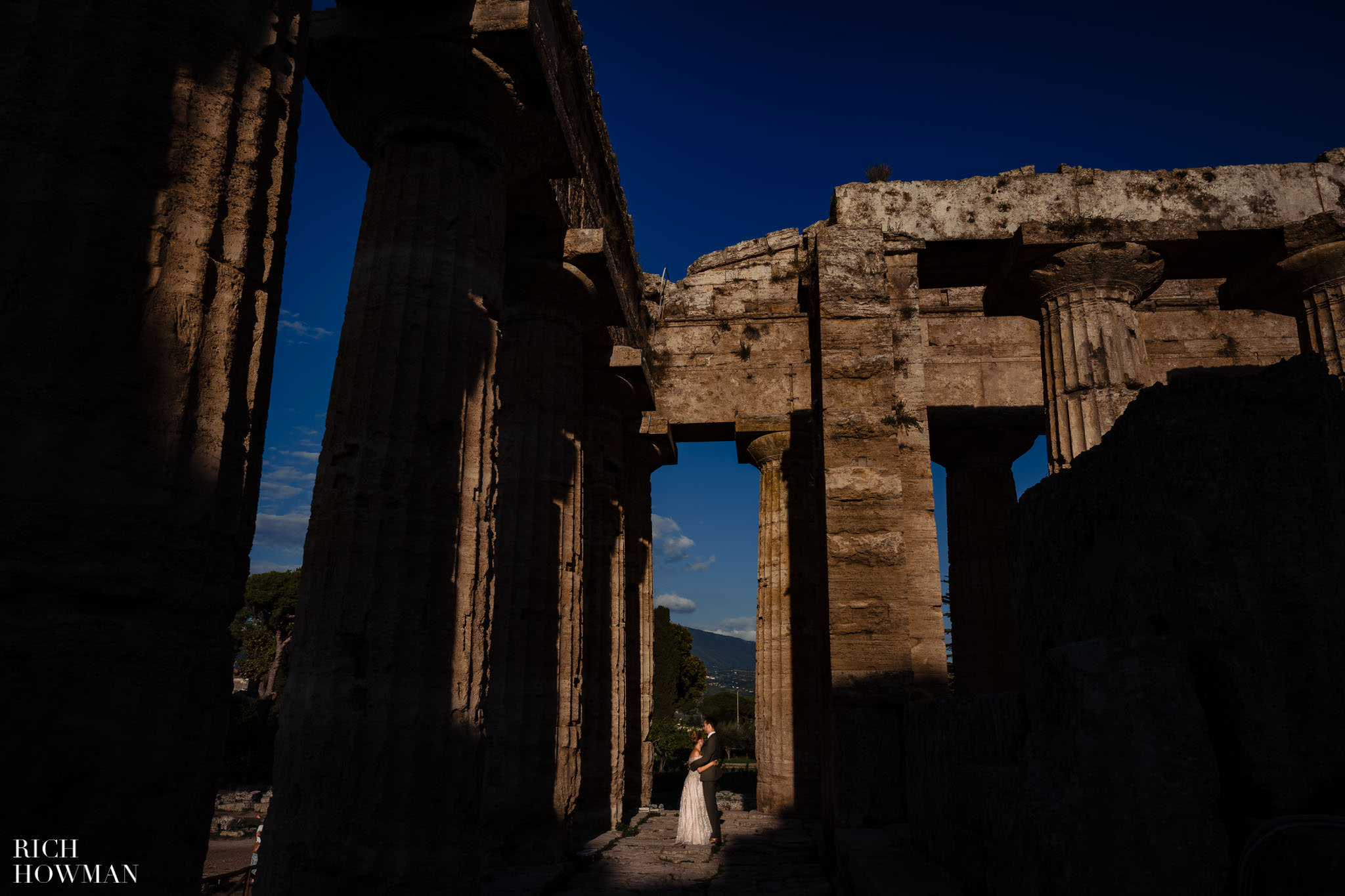 Paestum Temples Wedding Photographer