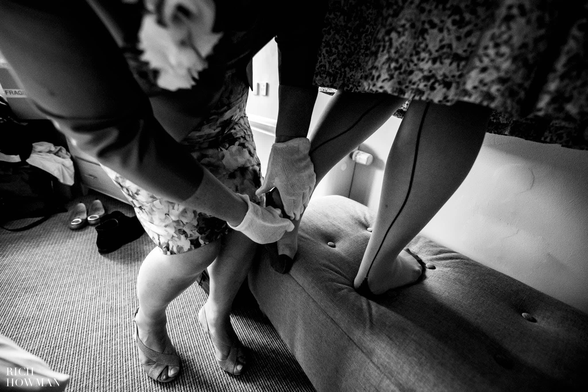 Outdoor Wedding in Bristol   Barn Wedding Photographers 234