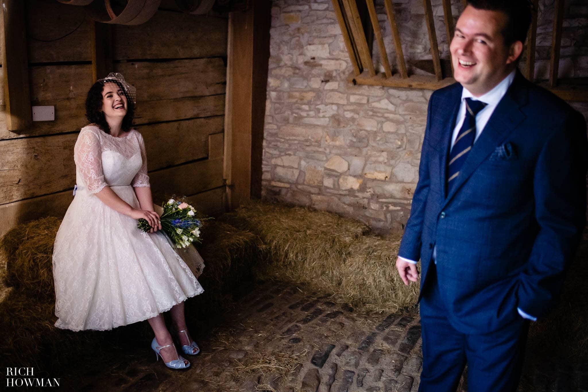 Outdoor Wedding in Bristol   Barn Wedding Photographers 271