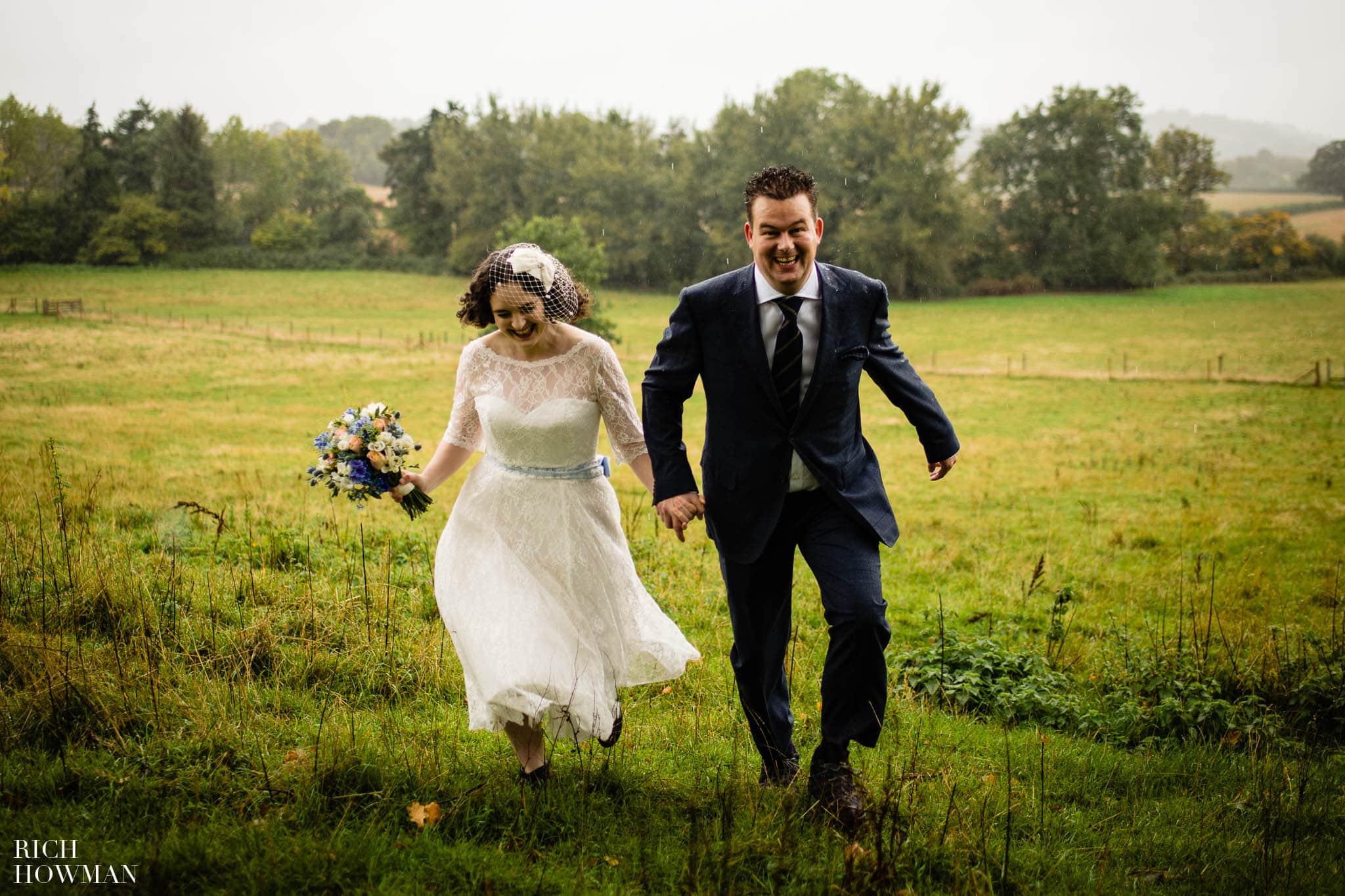 Outdoor Wedding in Bristol   Barn Wedding Photographers 276