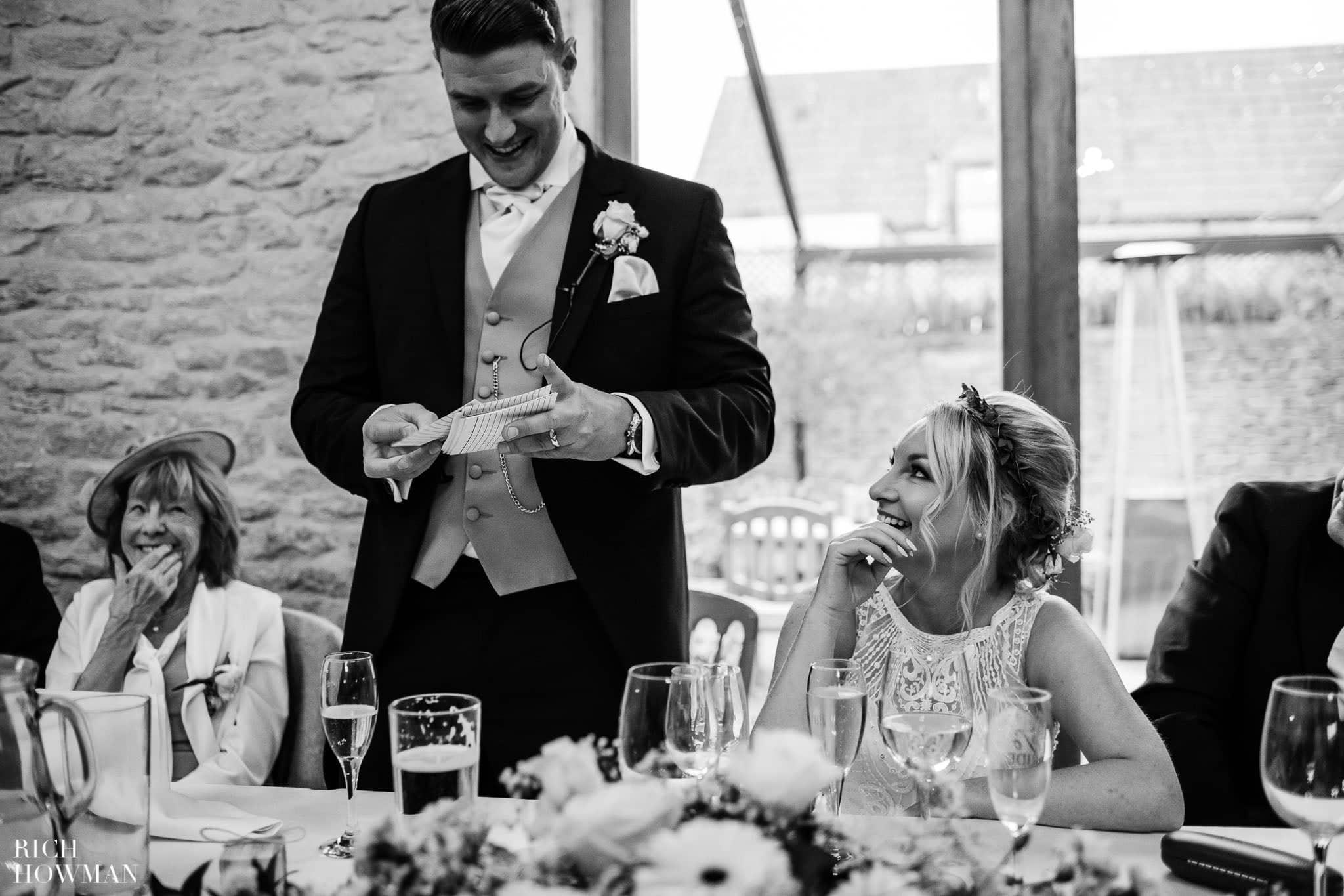 Kingscote Barn Wedding Photographer in Gloucestershire 584