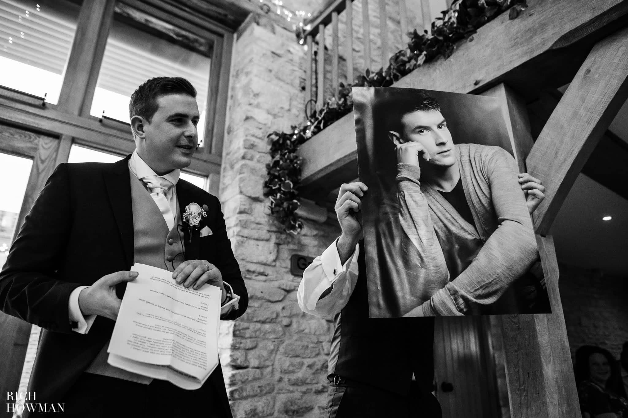 Kingscote Barn Wedding Photographer 50