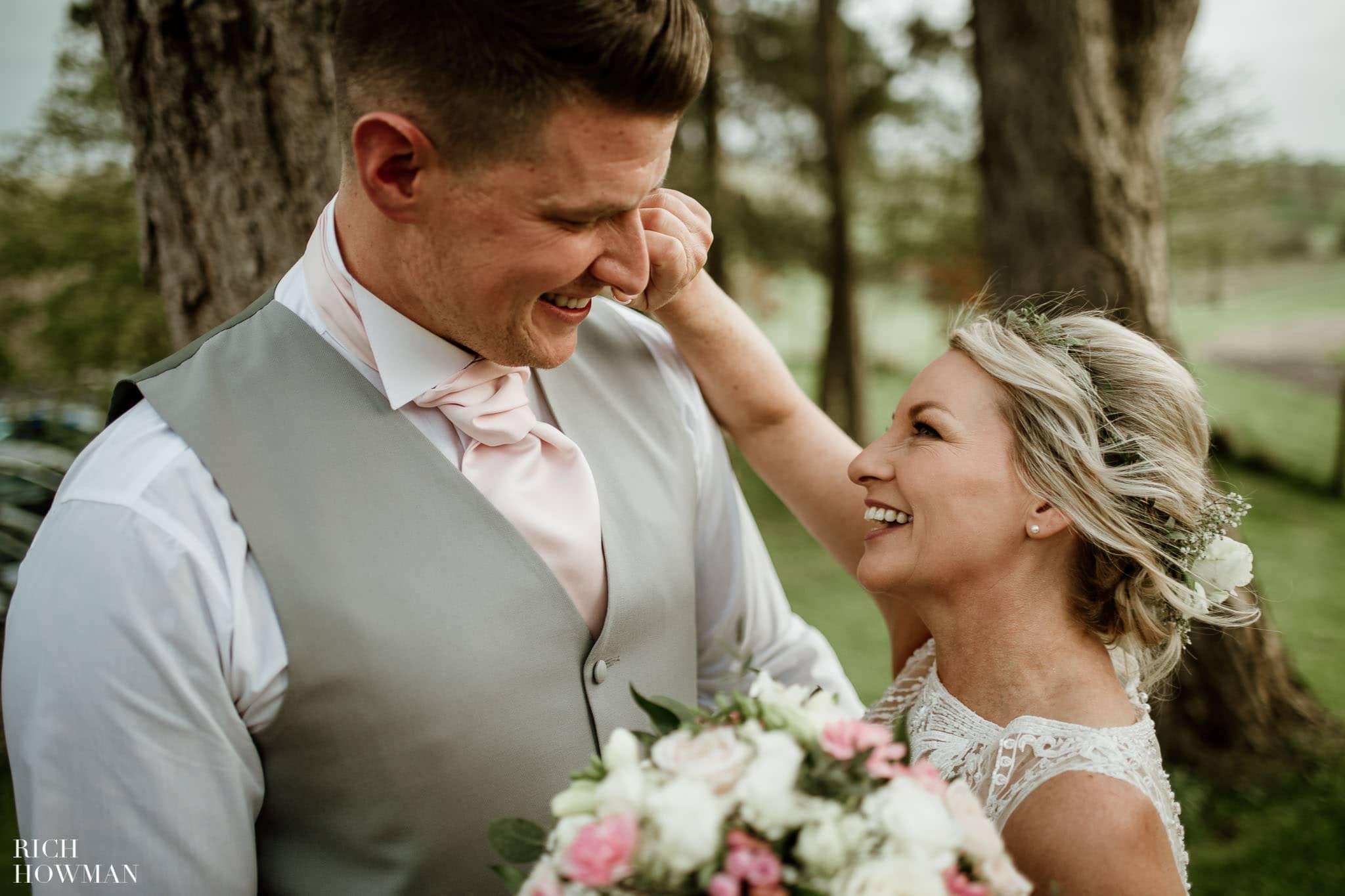 Kingscote Barn Wedding Photographer in Gloucestershire 594