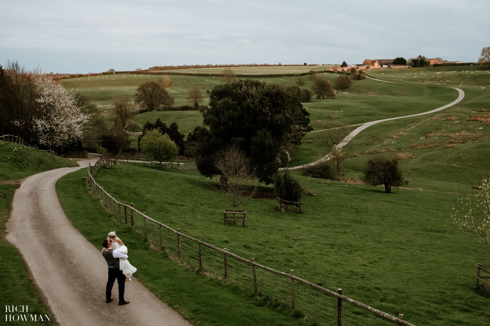 Kingscote Barn Wedding Photographer in Gloucestershire 604