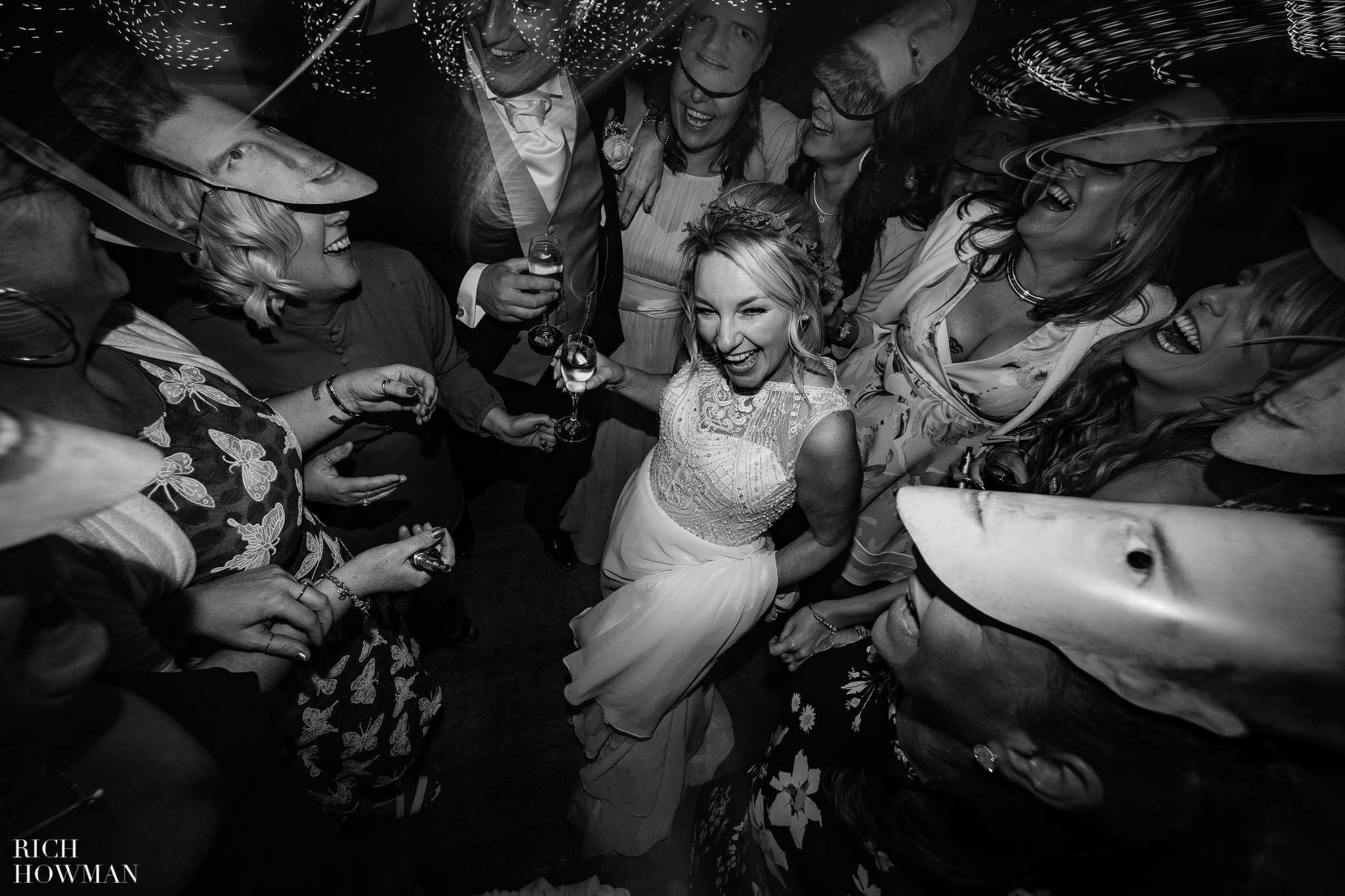 Kingscote Barn Wedding Photographer in Gloucestershire 627
