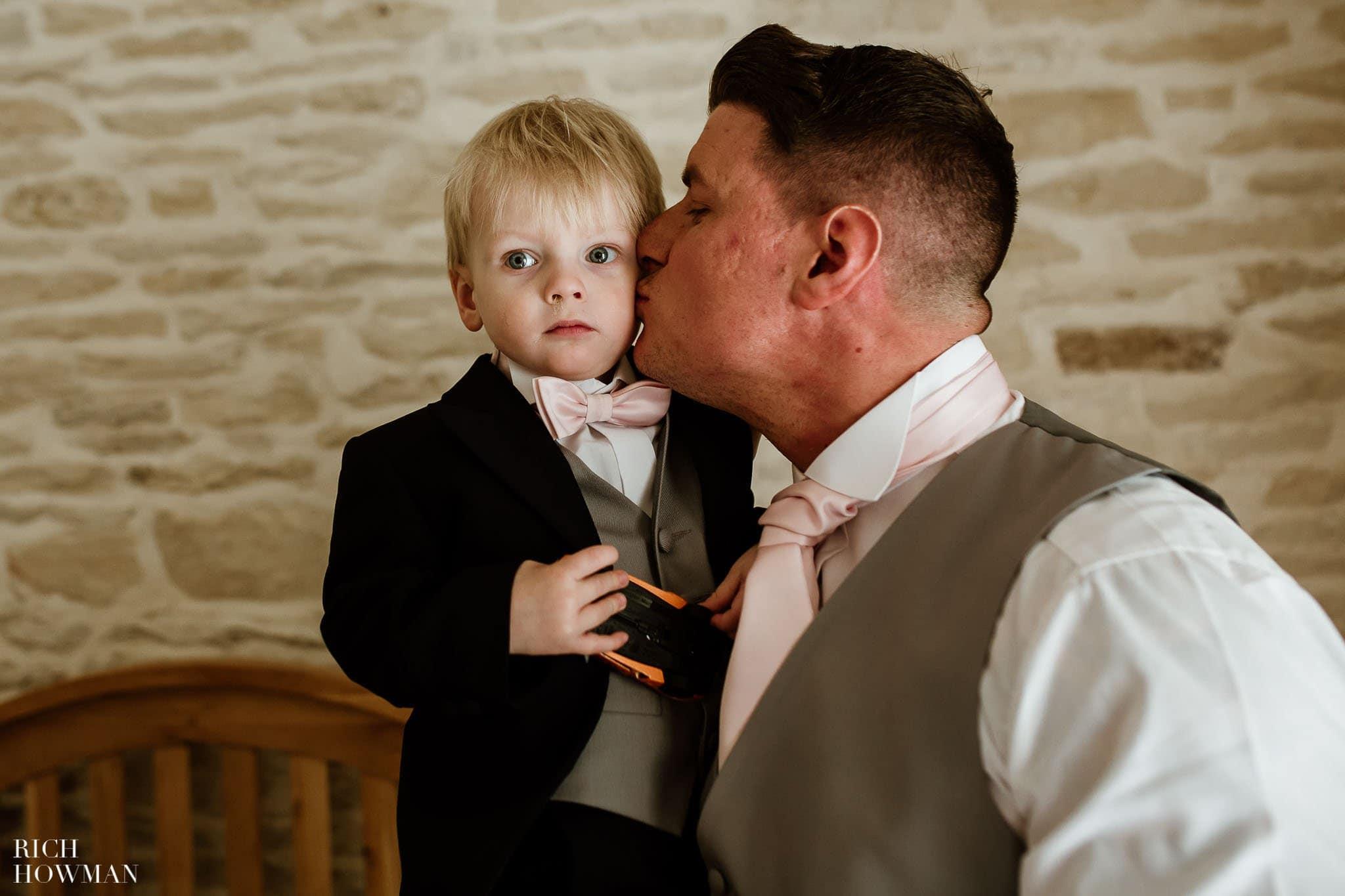 Kingscote Barn Wedding Photographer in Gloucestershire 508