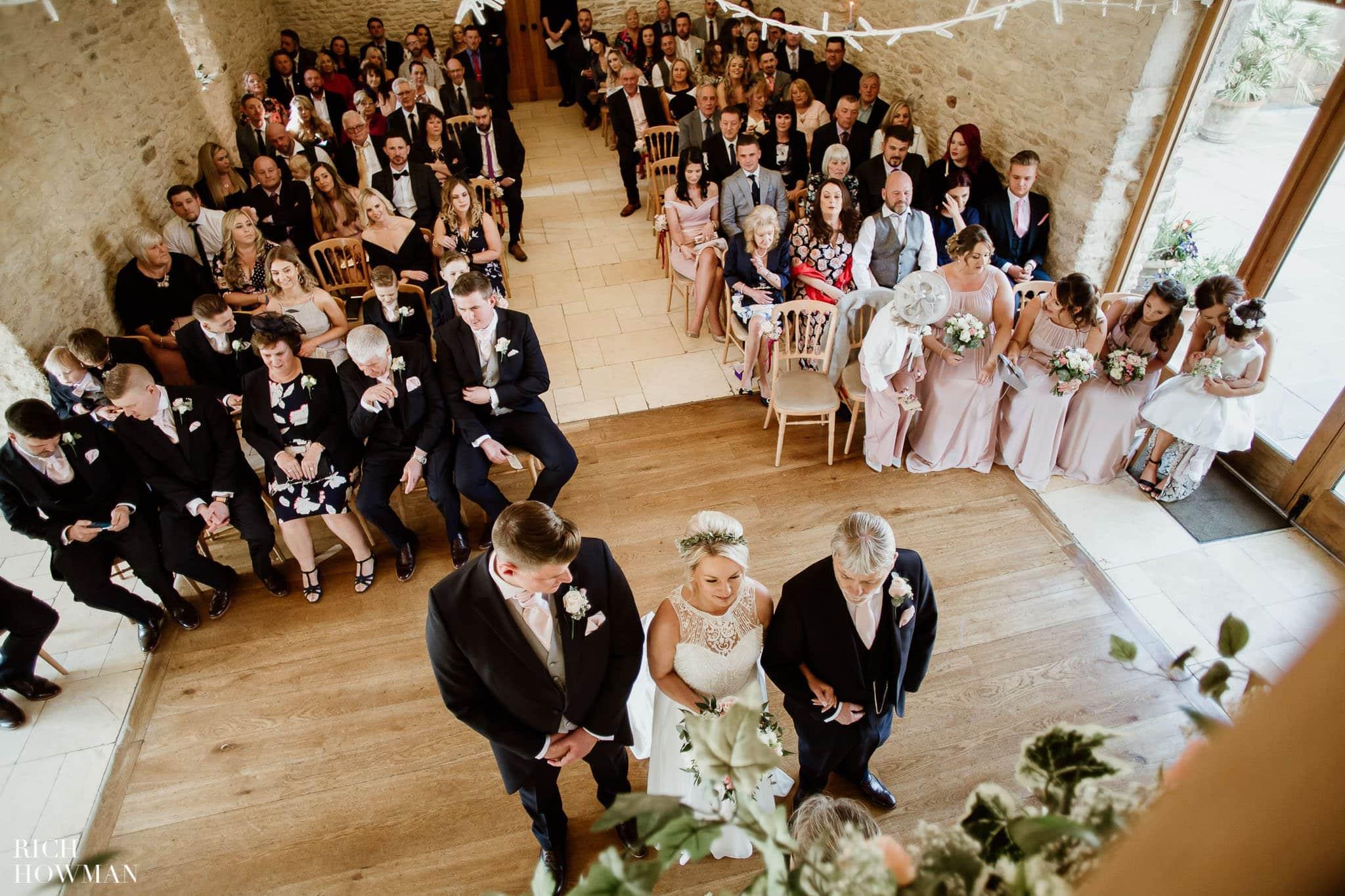 Kingscote Barn Wedding Photographer in Gloucestershire 539