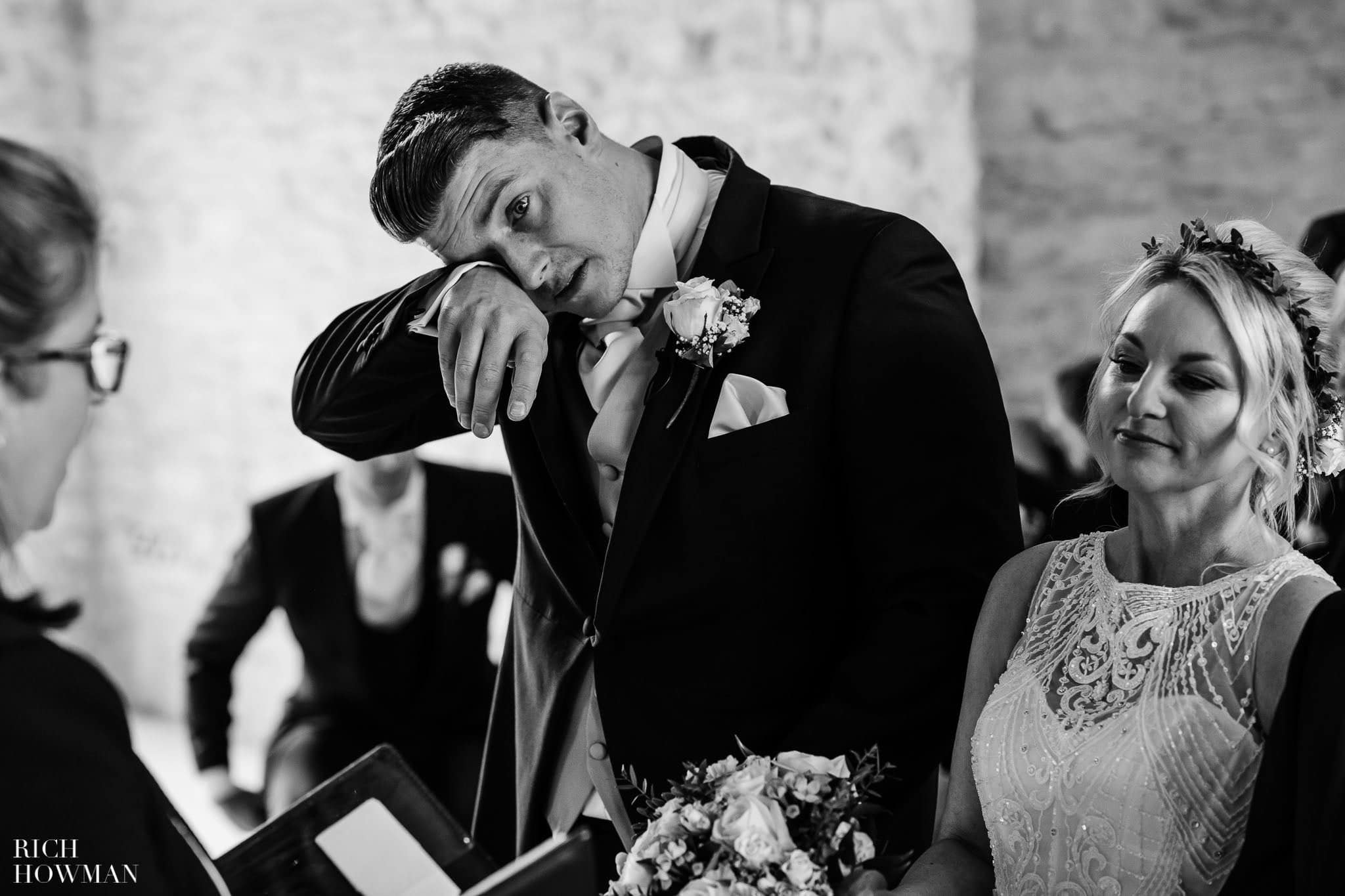 Kingscote Barn Wedding Photographer in Gloucestershire 540