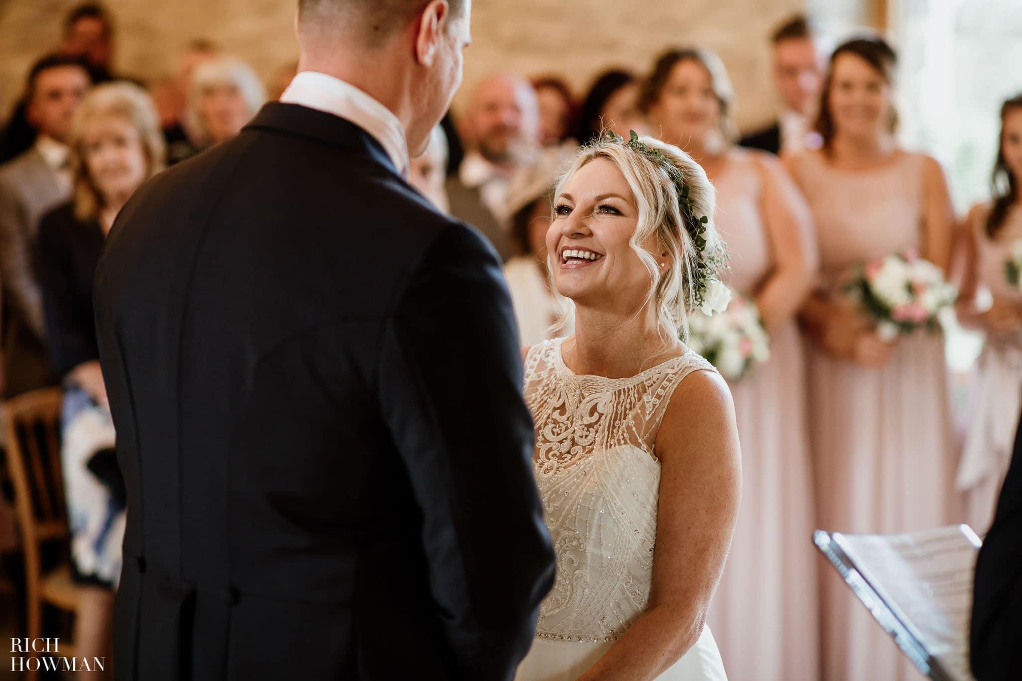 Kingscote Barn Wedding Photographer in Gloucestershire 542