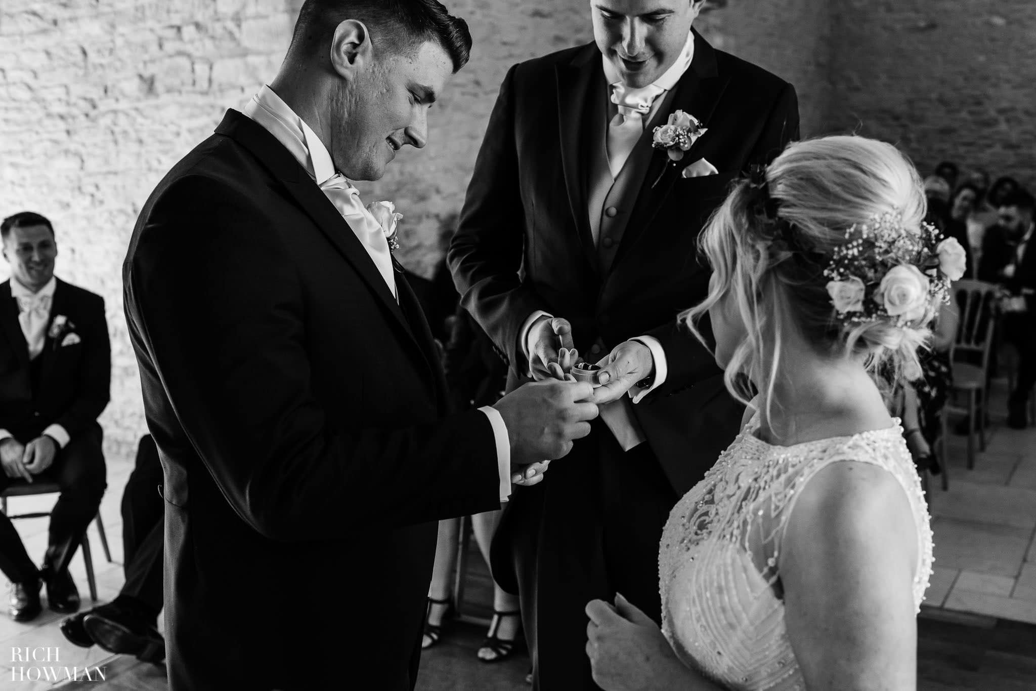 Kingscote Barn Wedding Photographer in Gloucestershire 543