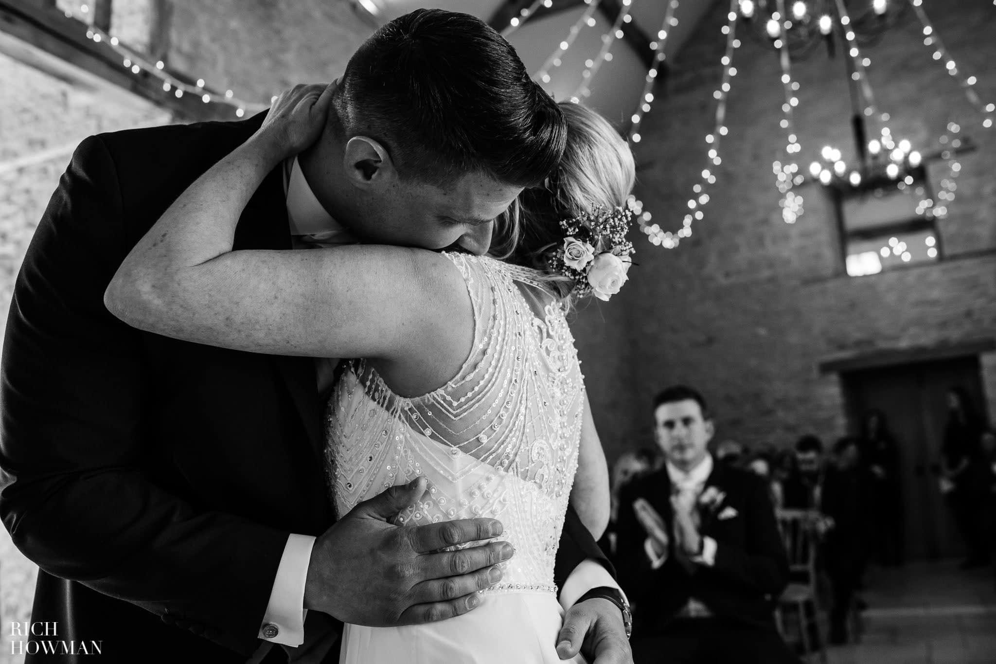 Kingscote Barn Wedding Photographer 29