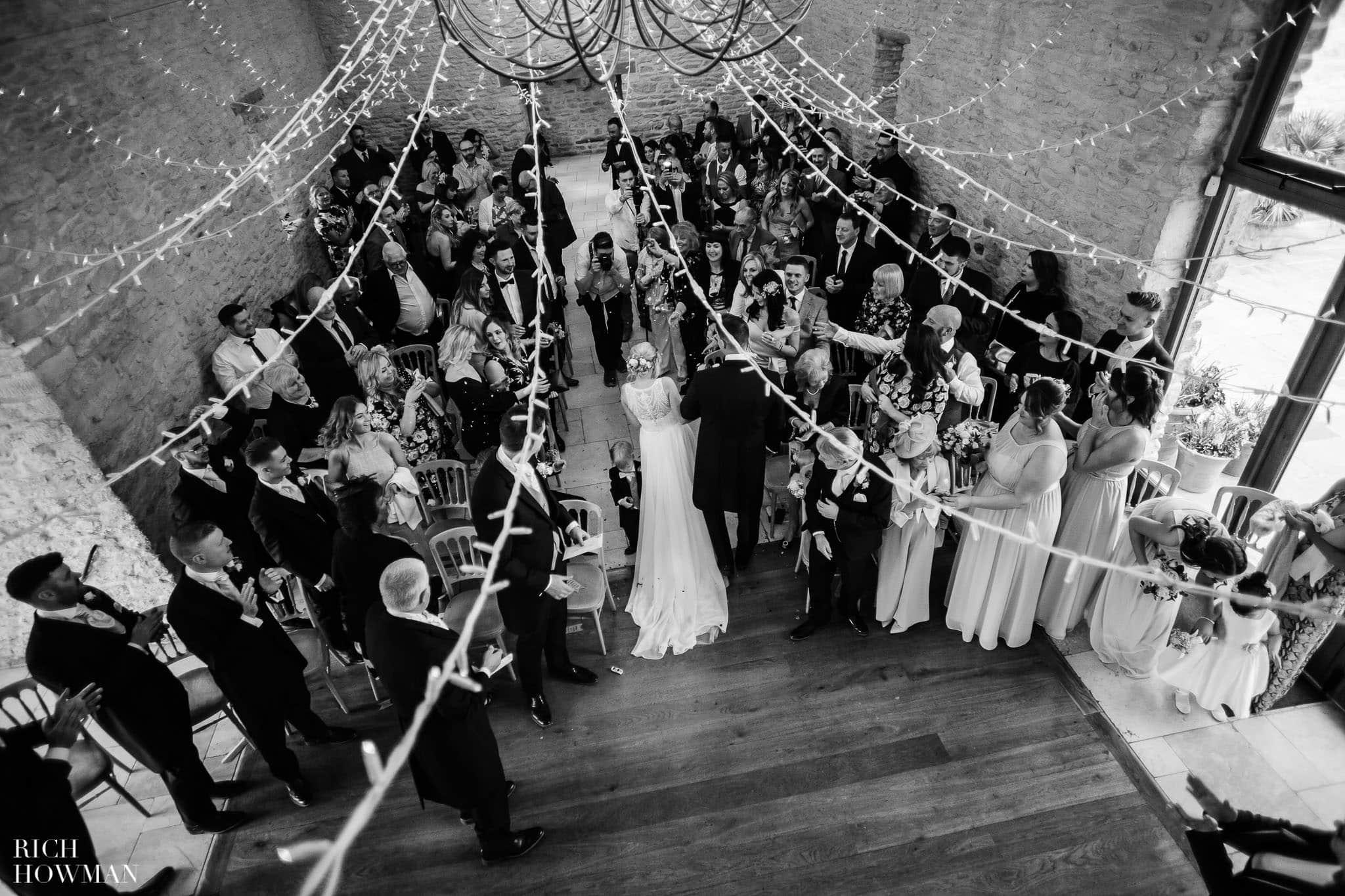 Kingscote Barn Wedding Photographer in Gloucestershire 549