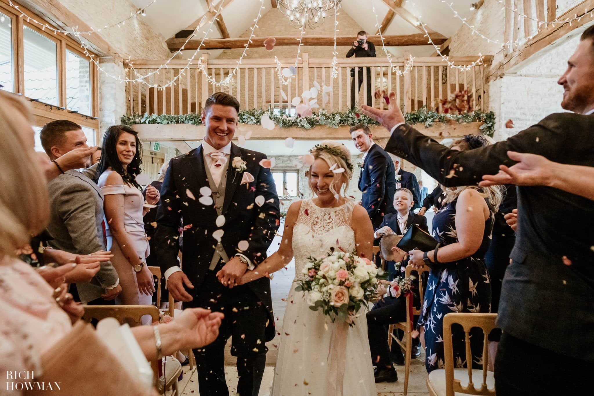 Kingscote Barn Wedding Photographer 33