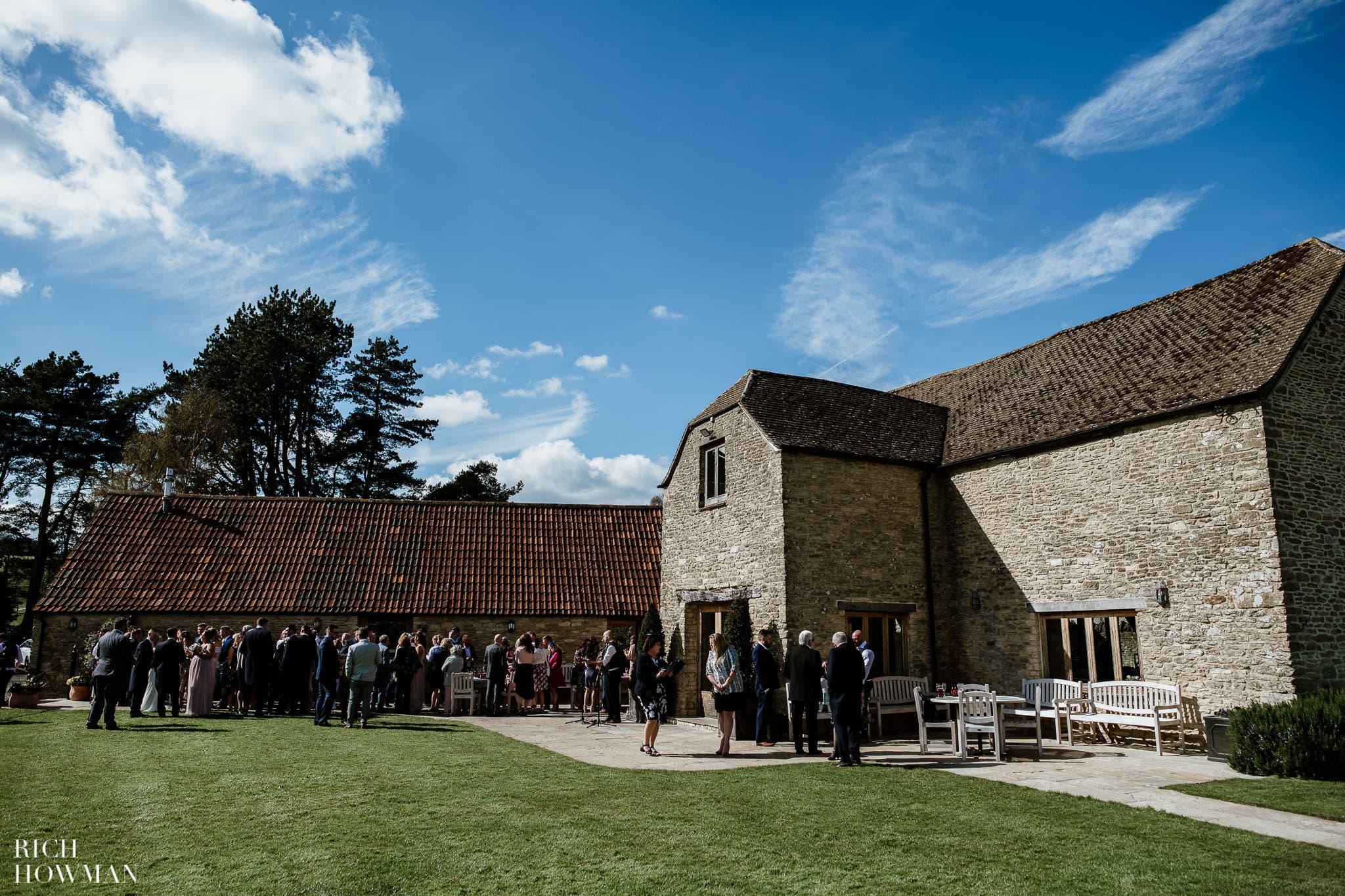 Kingscote Barn Wedding Photographer 34