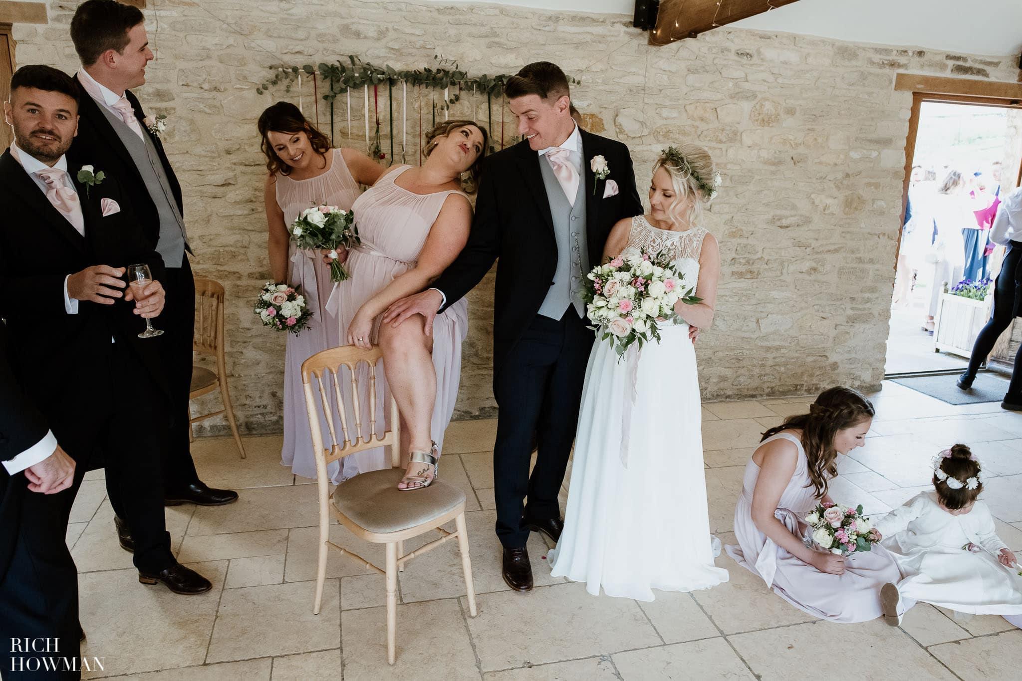 Kingscote Barn Wedding Photographer in Gloucestershire 555