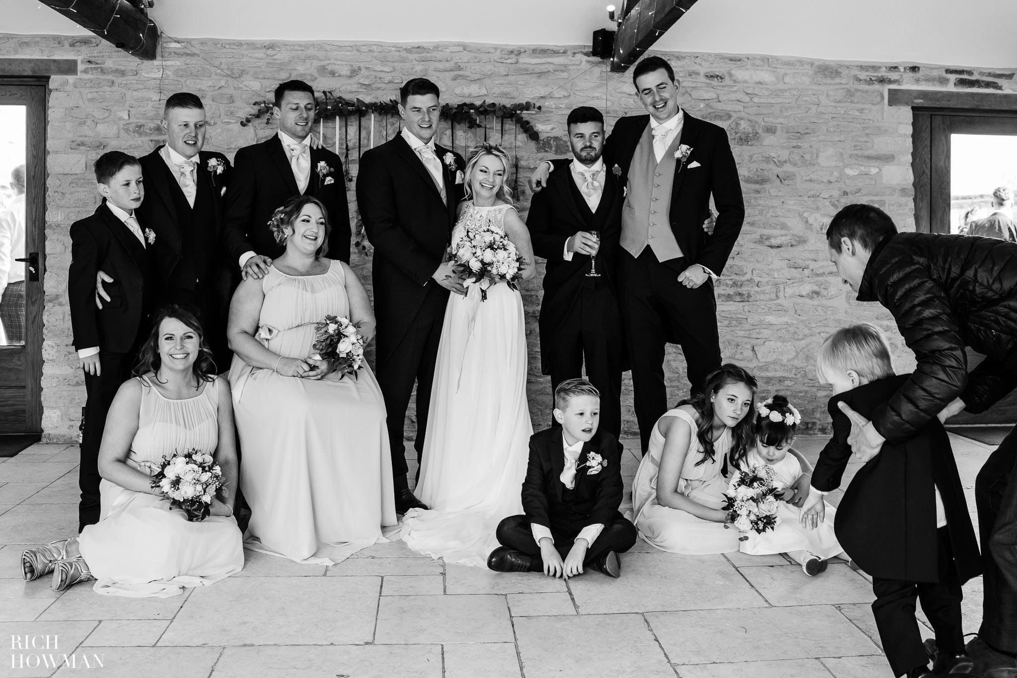 Kingscote Barn Wedding Photographer in Gloucestershire 556