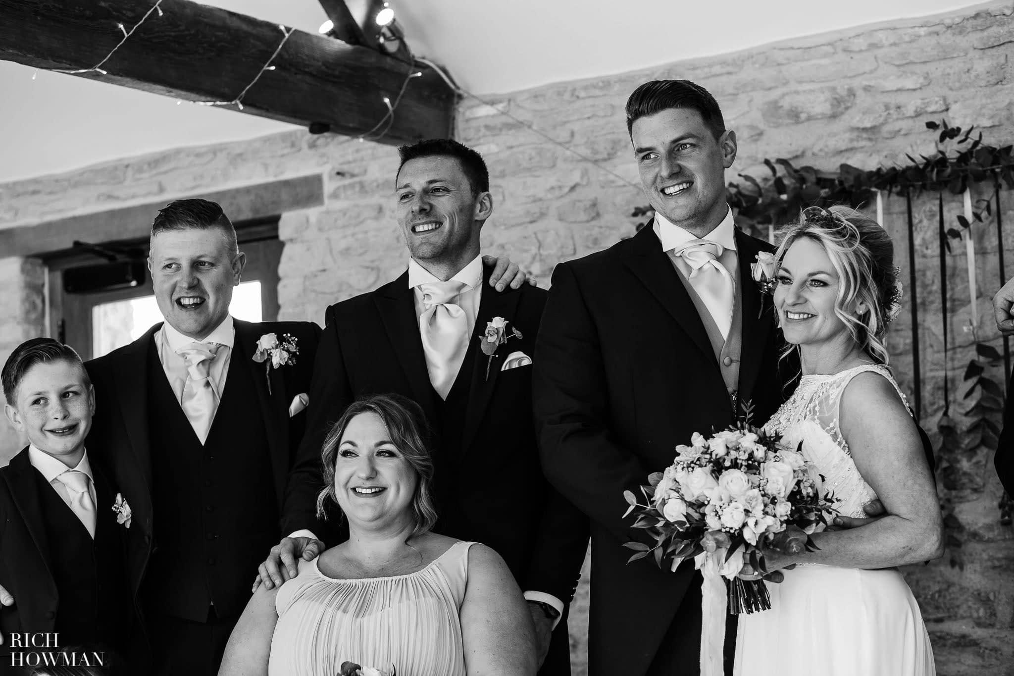 Kingscote Barn Wedding Photographer in Gloucestershire 558