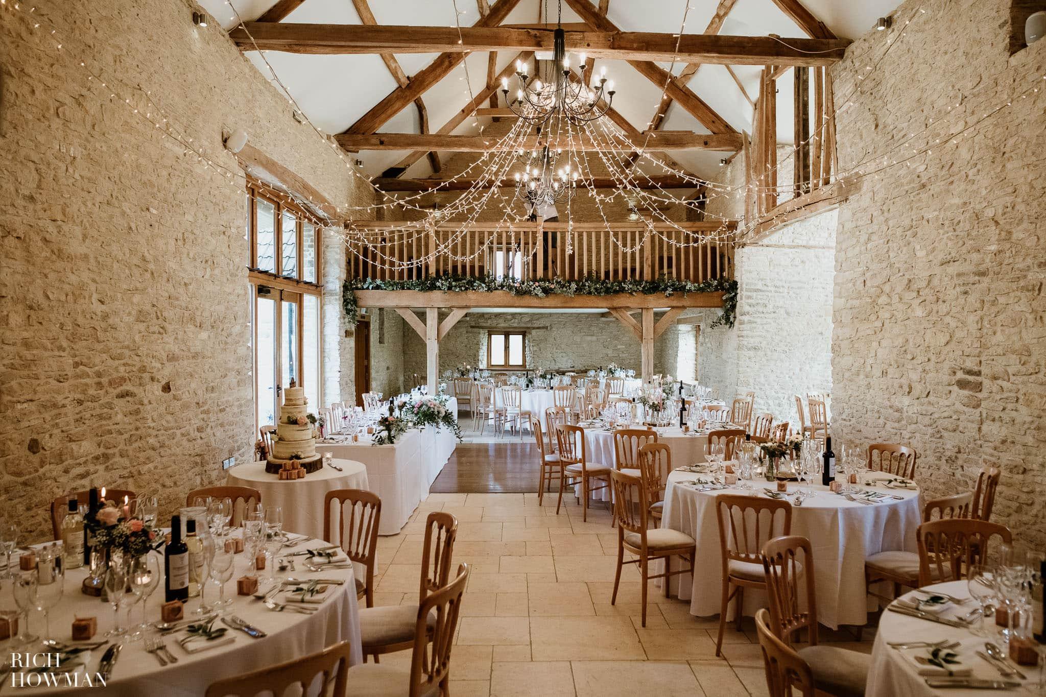 Kingscote Barn Wedding Photographer in Gloucestershire 563