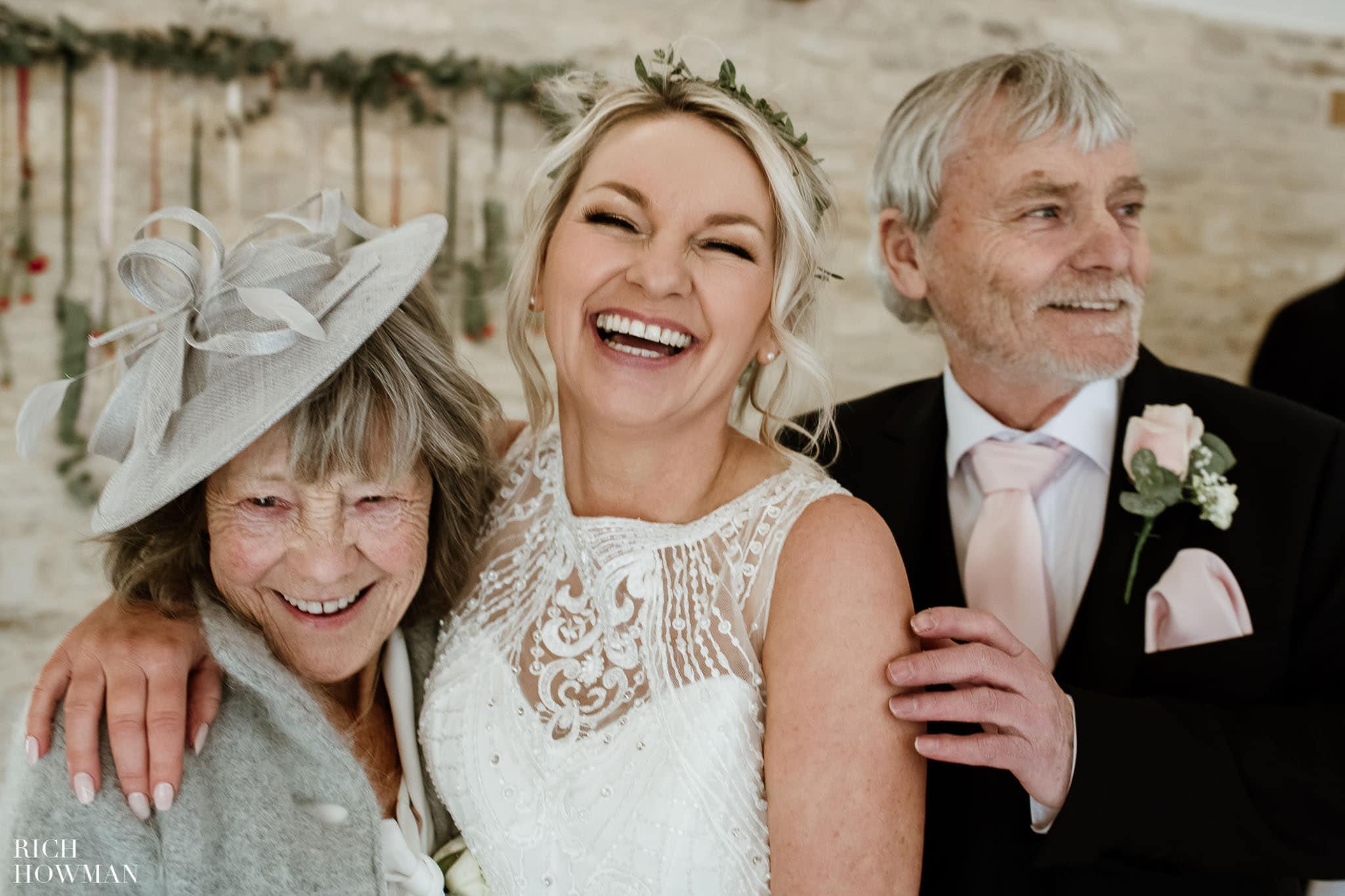 Kingscote Barn Wedding Photographer 45