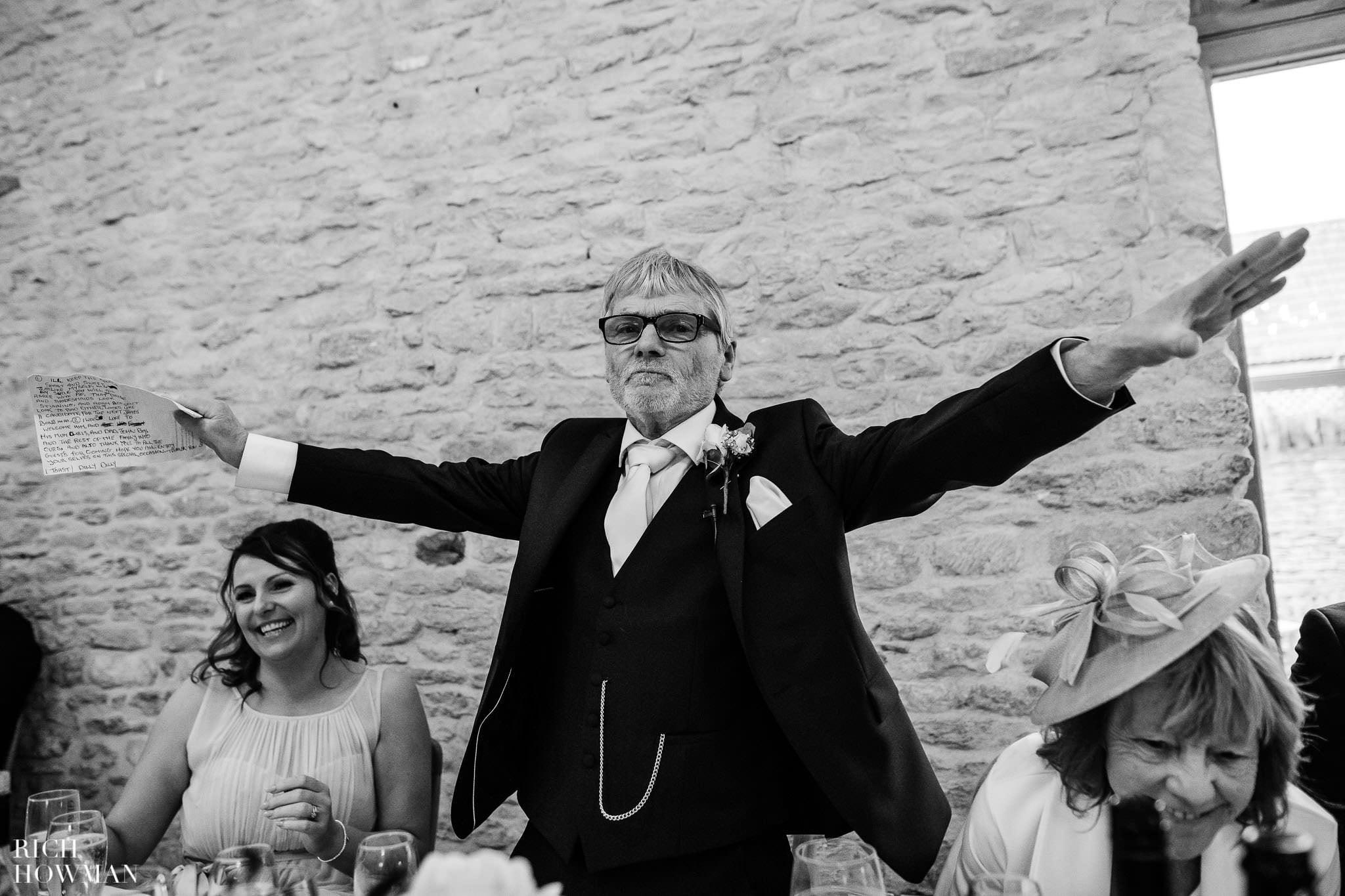 Kingscote Barn Wedding Photographer in Gloucestershire 575