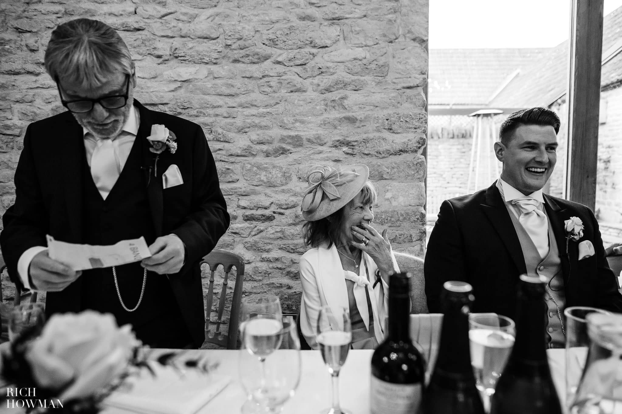 Kingscote Barn Wedding Photographer in Gloucestershire 576