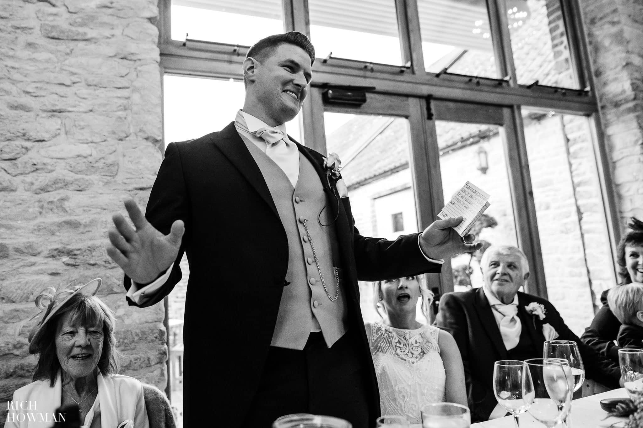 Kingscote Barn Wedding Photographer in Gloucestershire 577
