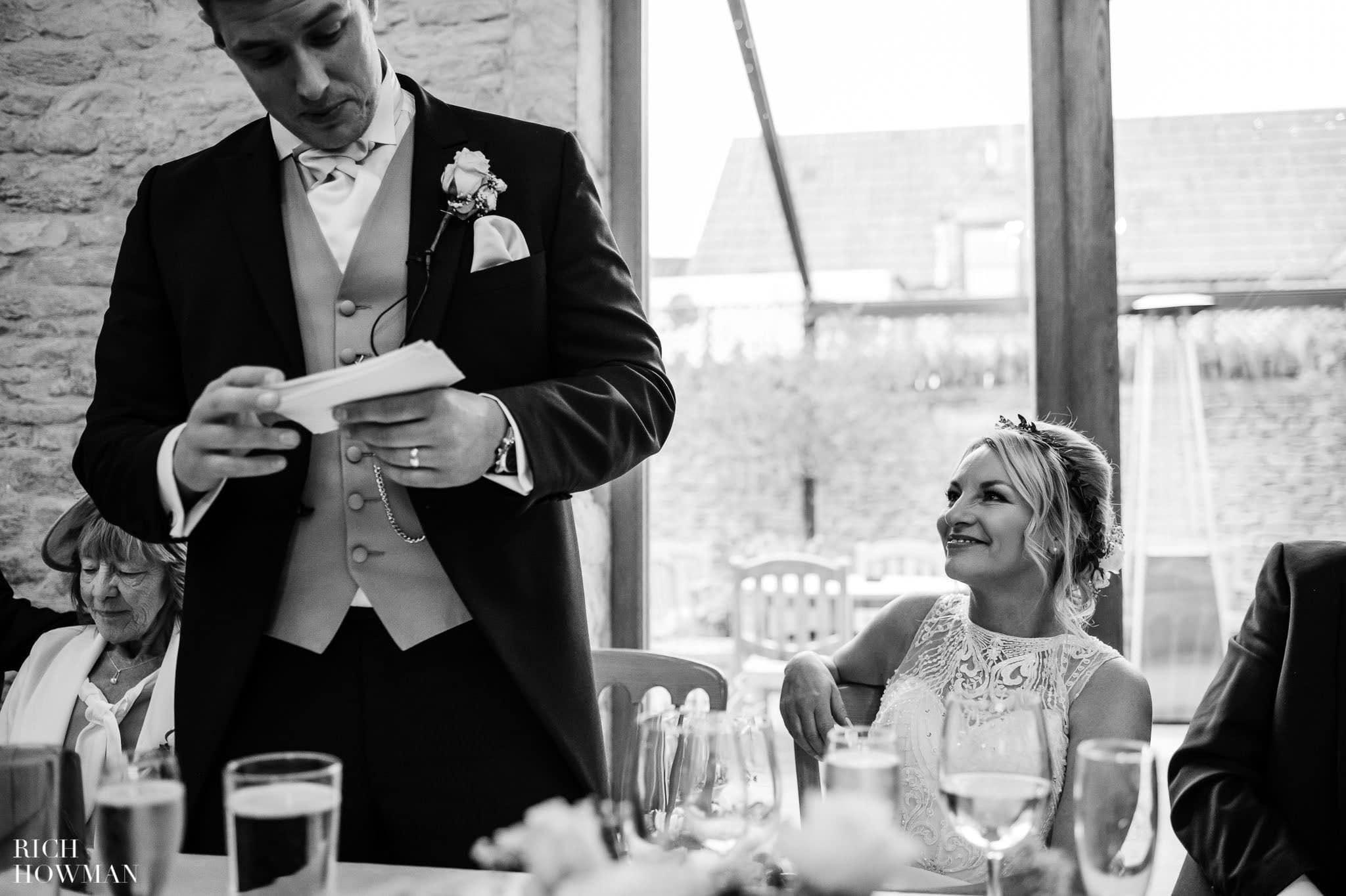 Kingscote Barn Wedding Photographer in Gloucestershire 579