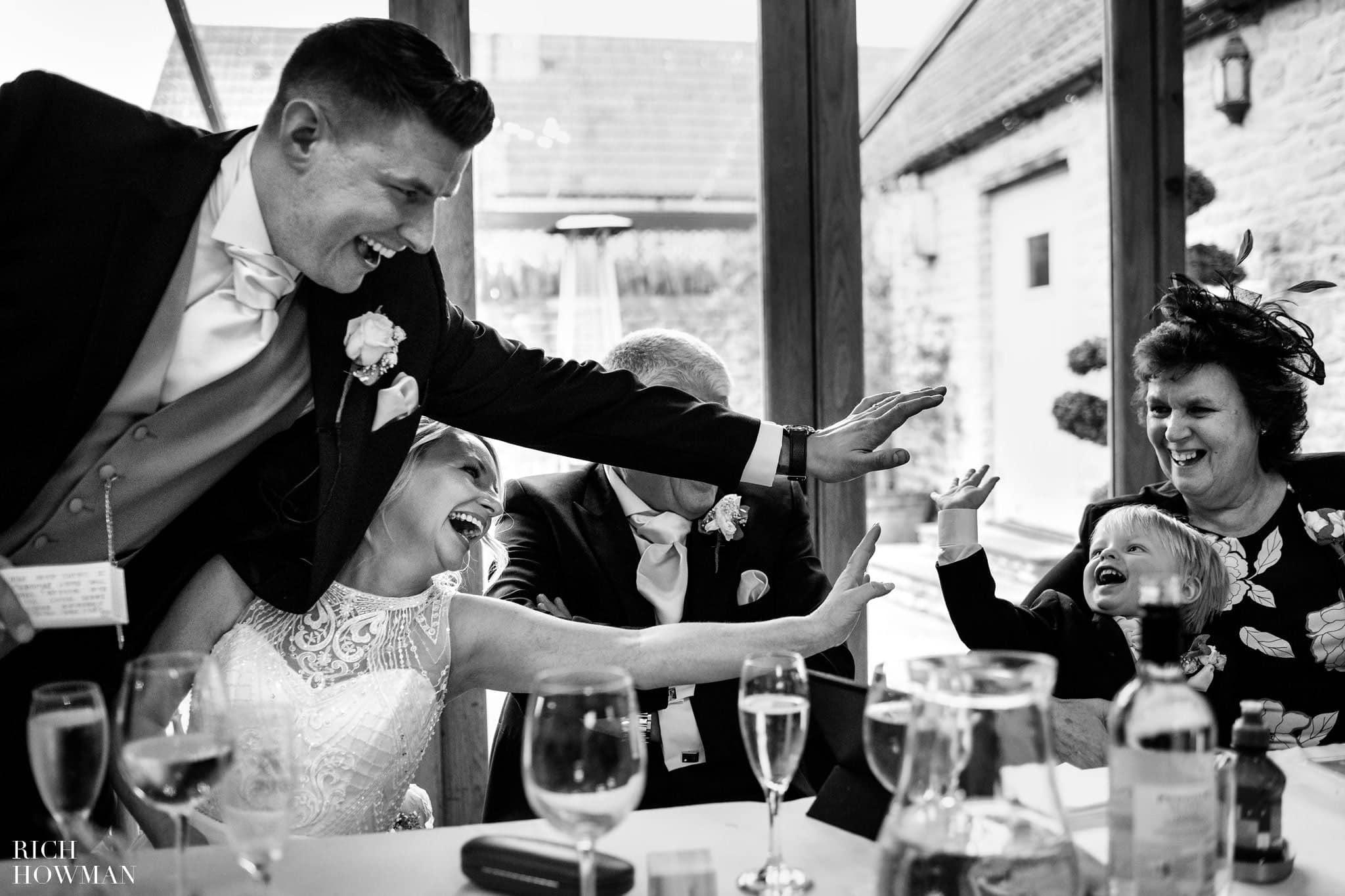 Kingscote Barn Wedding Photographer in Gloucestershire 580