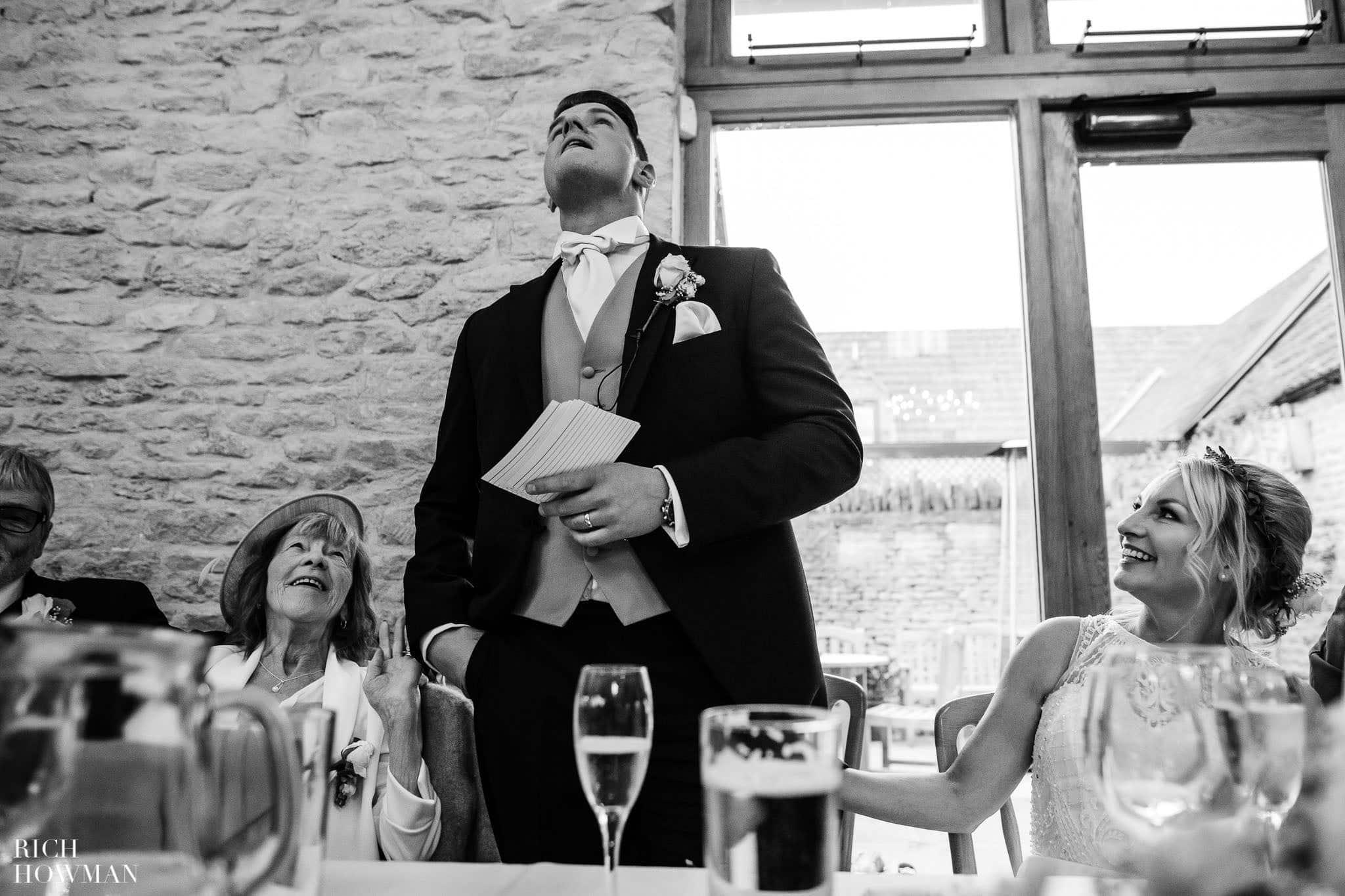 Kingscote Barn Wedding Photographer in Gloucestershire 581