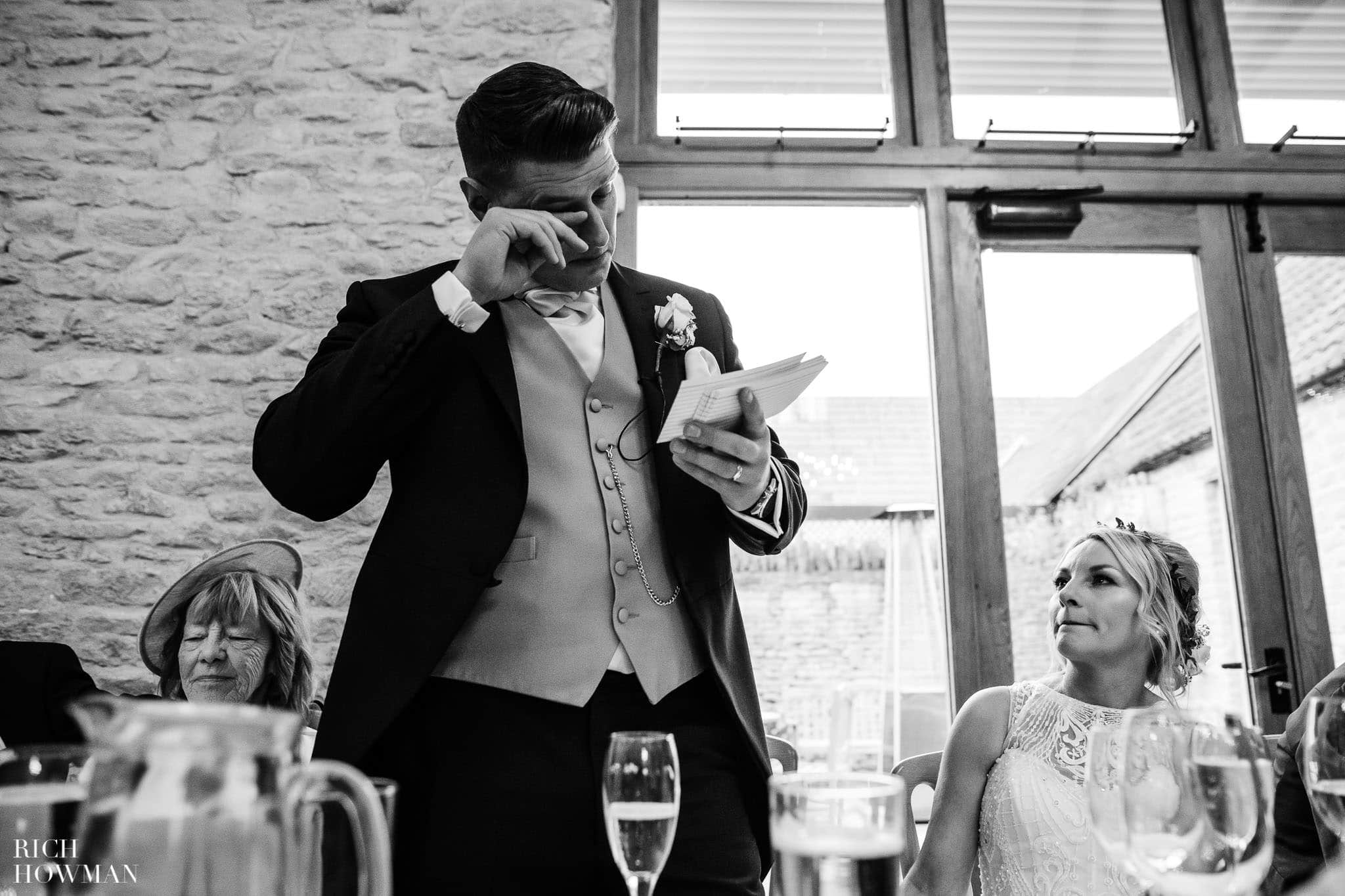Kingscote Barn Wedding Photographer in Gloucestershire 582