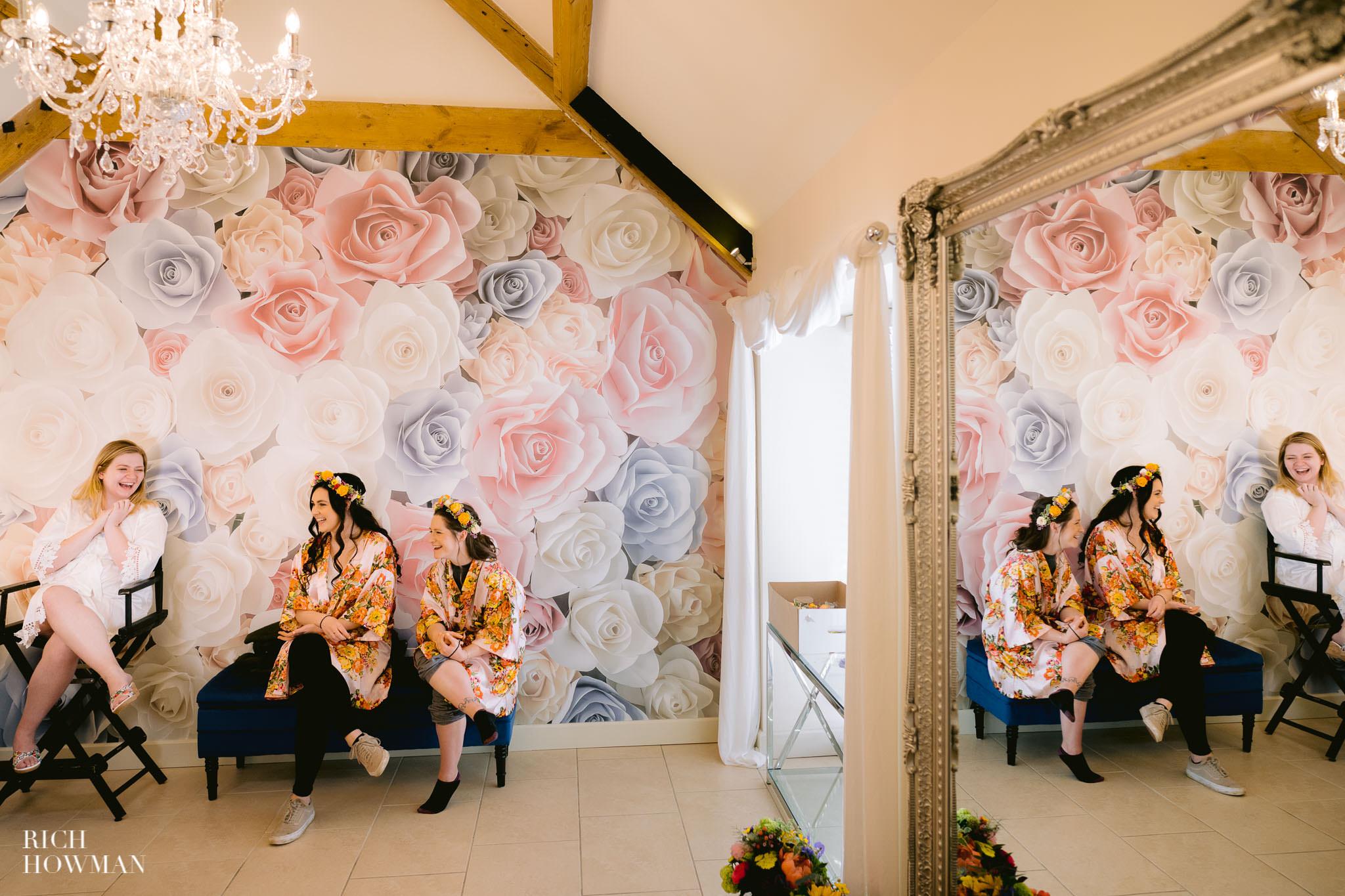 Gloucestershire wedding photography bridal preparation