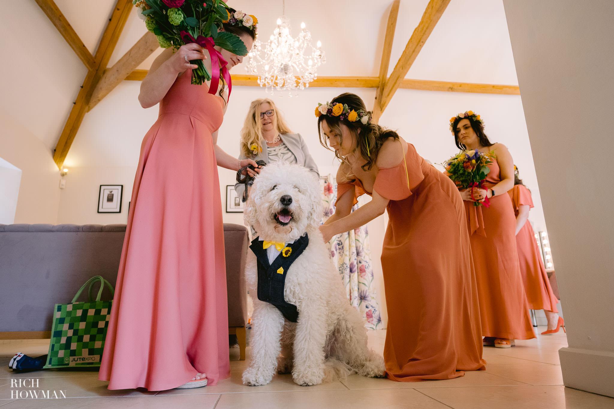 Kingscote Barn Wedding Photographer 10