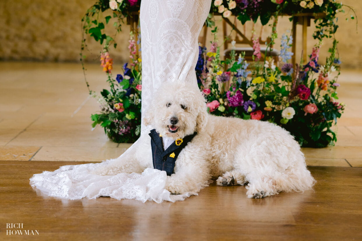 Kingscote Barn Wedding Photographer 11