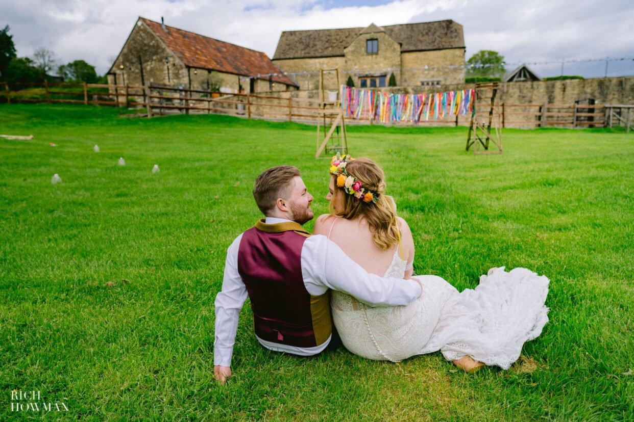 Kingscote Barn Wedding Photographer 7