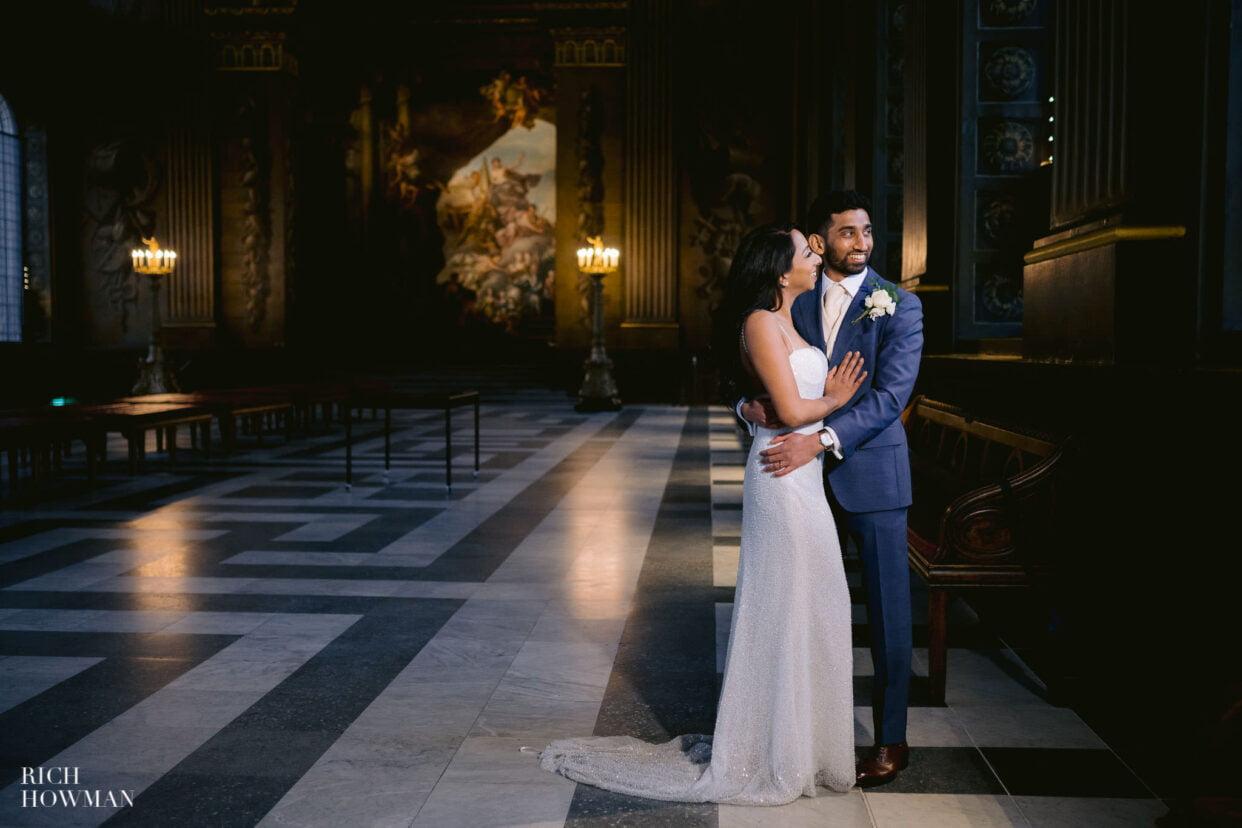 Old Royal Naval College Wedding Photographer 67