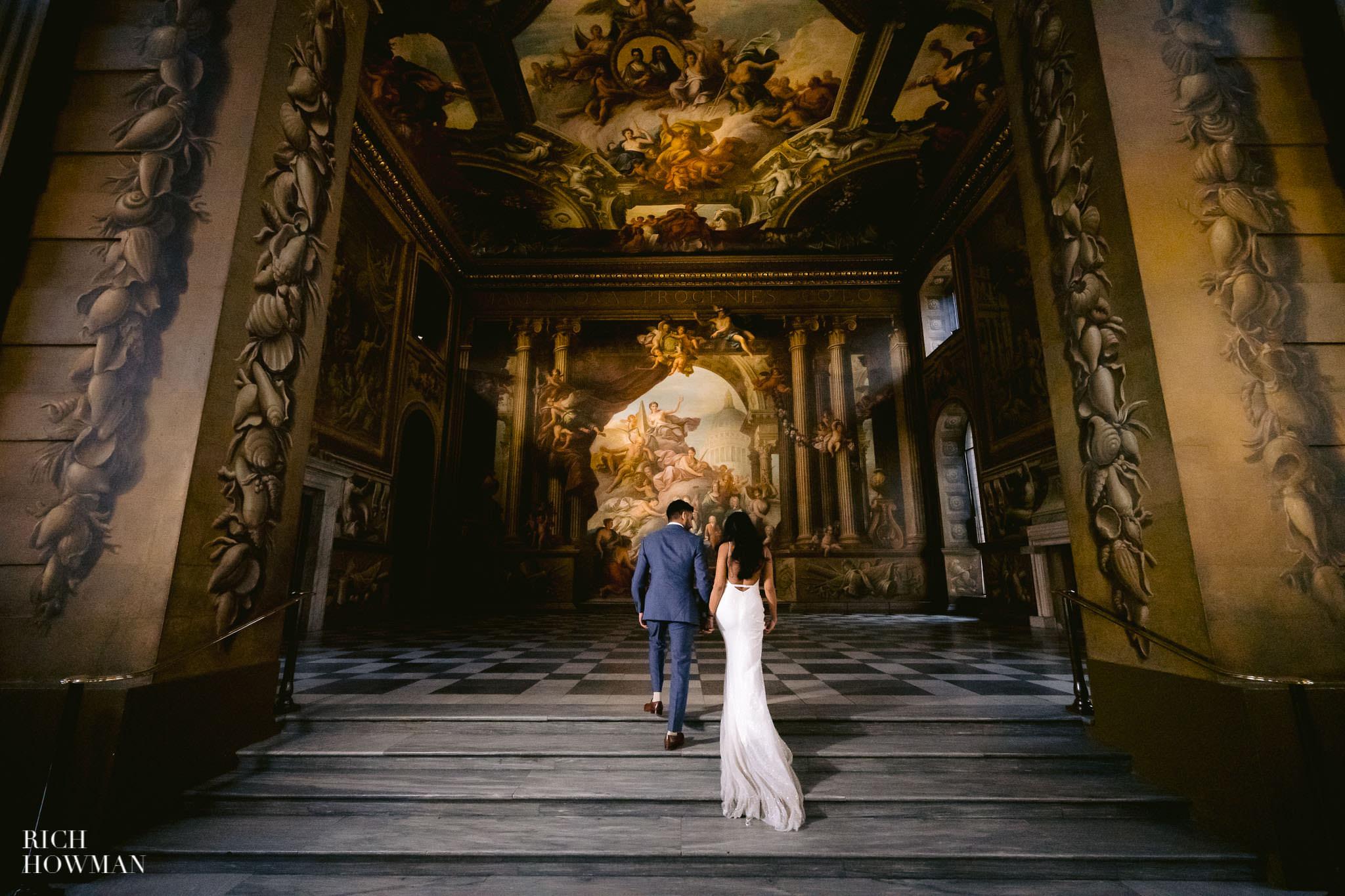 Old Royal Naval College Wedding Photographer
