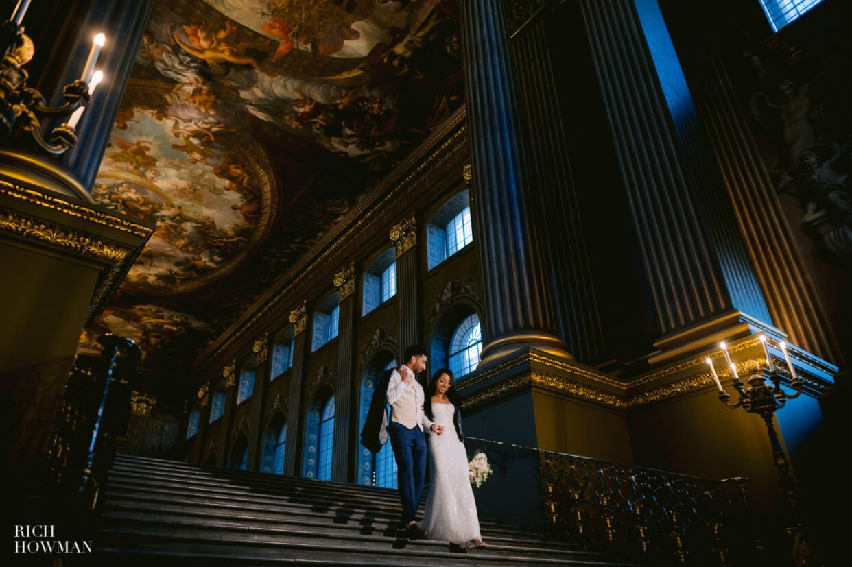 Old Royal Naval College Wedding Photographer 65