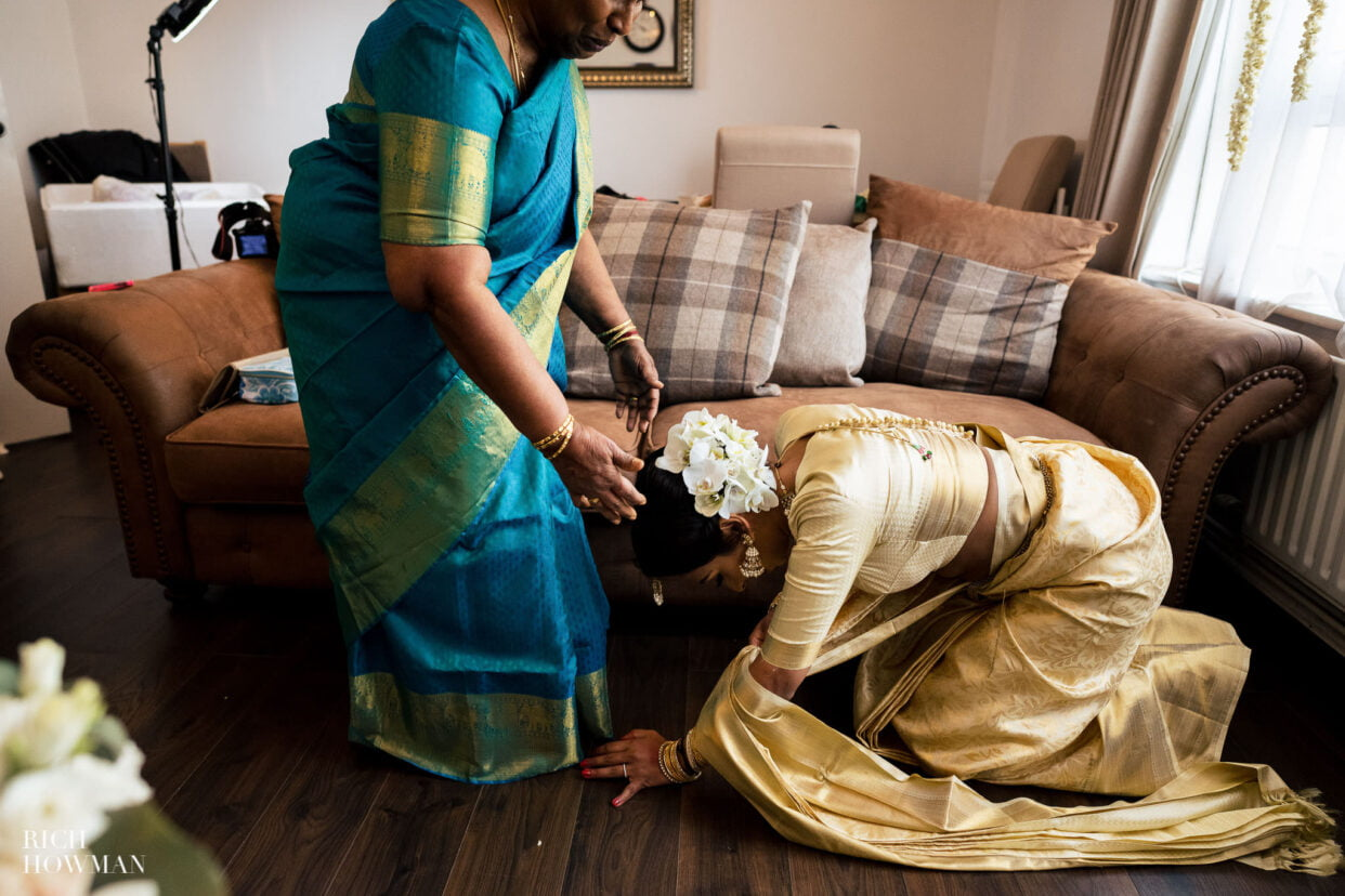 bridal preparation tamil hindu wedding photographer